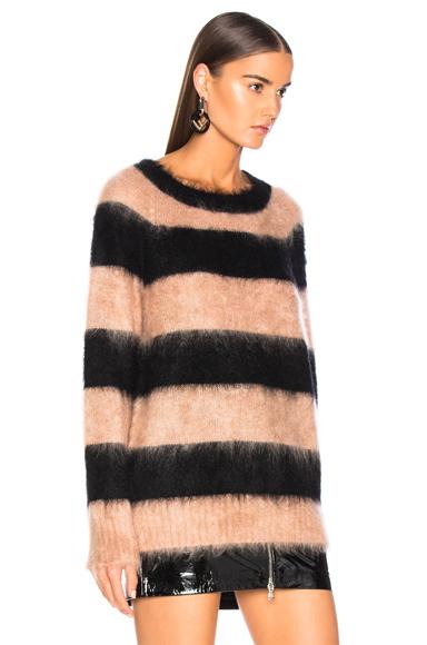 条纹羊毛毛衣展示图